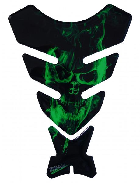 BIKE-label 500151 Tankpad Motorrad Aufkleber Ghost Green