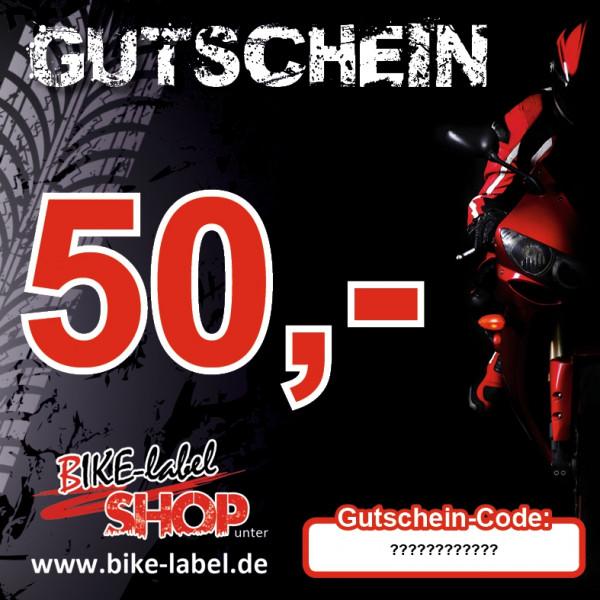 BIKE-label BIKE-label Gutschein 50,- EURO