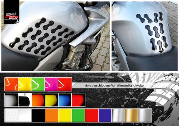 BIKE-label 800042 Motorrad Lackschutz Aufkleber Sticker Punkte