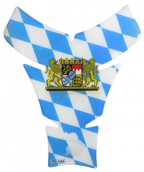 BIKE-label 502420 Tankpad Motorrad Aufkleber Bayern