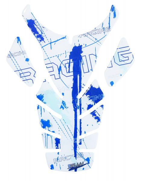Tankpad Racing Blue Form 2