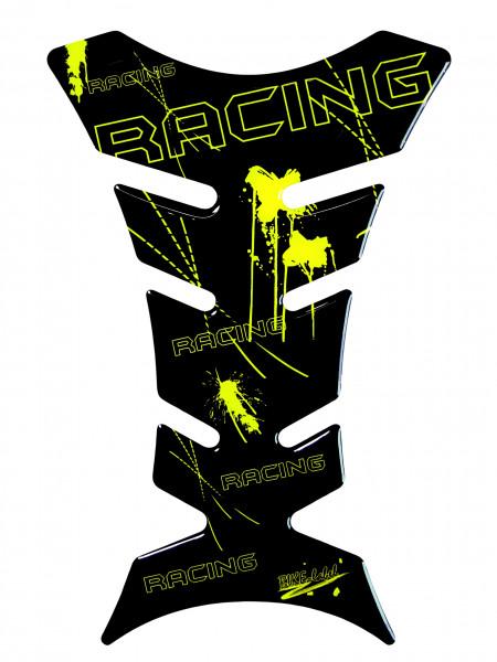 BIKE-label 501276 Tankpad Motorrad Aufkleber Racing Neon Gelb