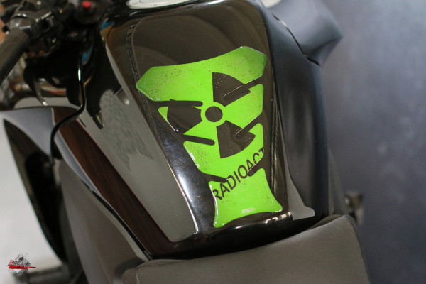 tankpad radioaktiv green form 8