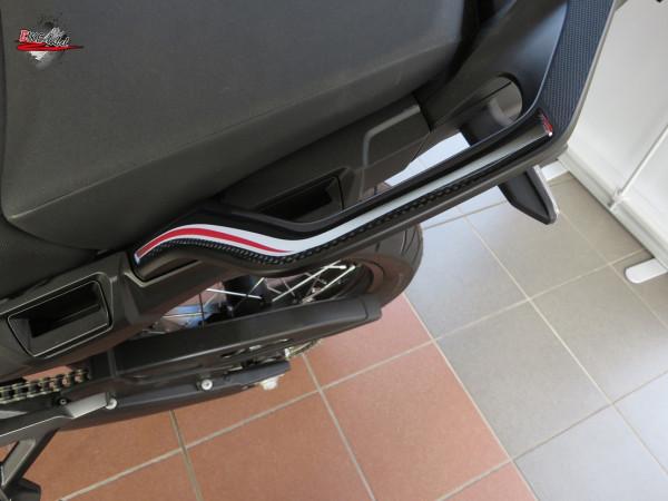 BIKE-label 550020 Deko Schutz-Aufkleber Haltegriffe Carbon Red kompatibel für Honda CRF 1000L