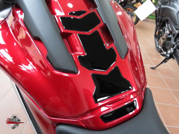 BIKE-label 502121 Tankpad Aufkleber Schwarz kompatibel für Honda NC 750X