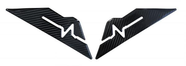 BIKE-label 800182 Seitentank Pad Carbon Schwarz Optik kompatibel für Honda NC 750 X