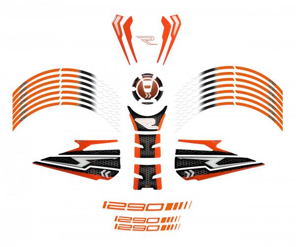 BIKE-label 850008 Motorrad Aufkleber Set kompatibel für KTM 1290 Super Duke R - ab BJ 2020