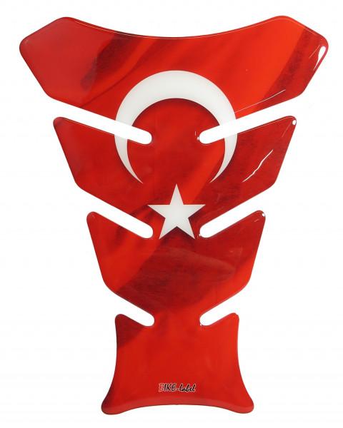 BIKE-label 502460 Tankpad Aufkleber Motorrad Türkei