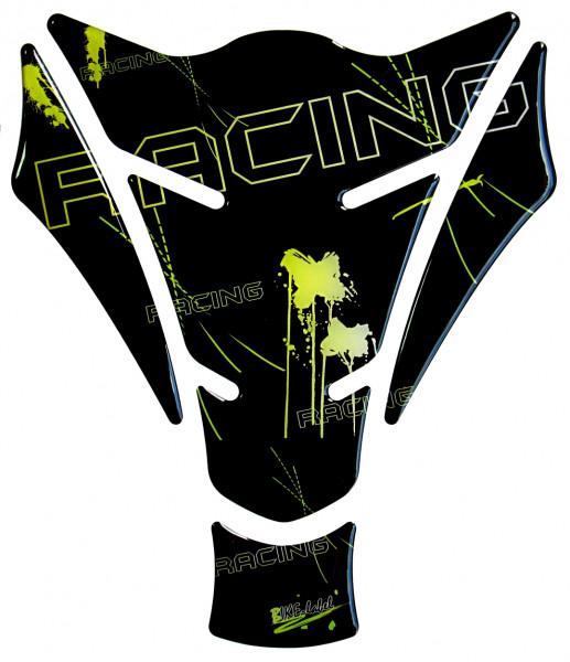 Tankpad racing black yellow Form 15