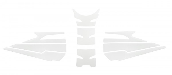 BIKE-label 850005 Tankpad Set transparent kompatibel für KTM 1290 Super Duke R - ab BJ 2020