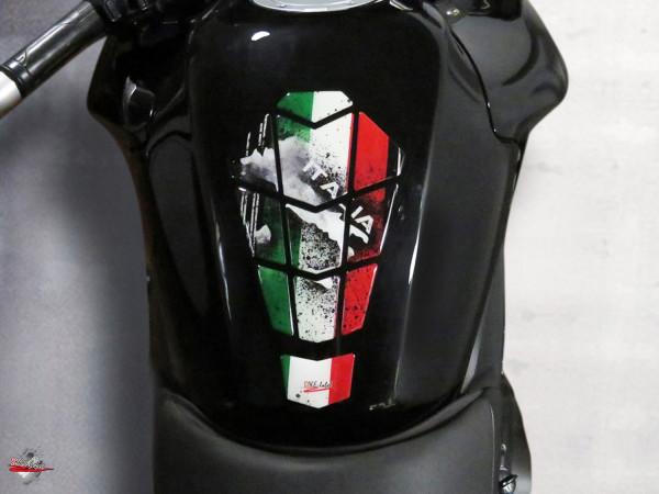 BIKE-label 502604 Tankpad Italien Tricolore