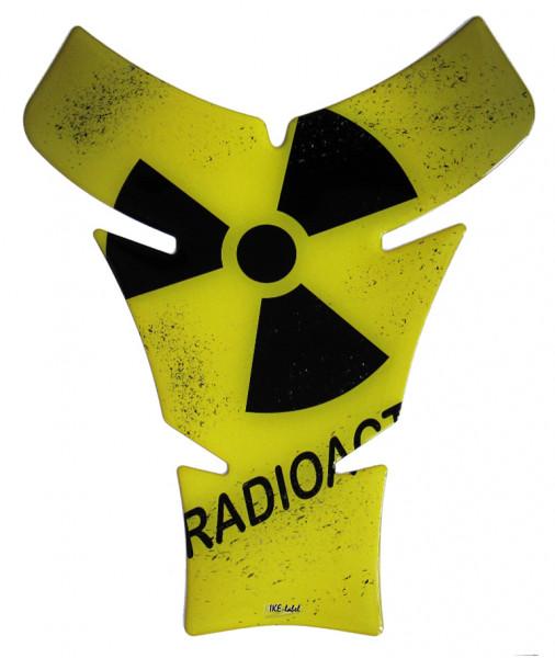 tankpad radioaktiv form 4