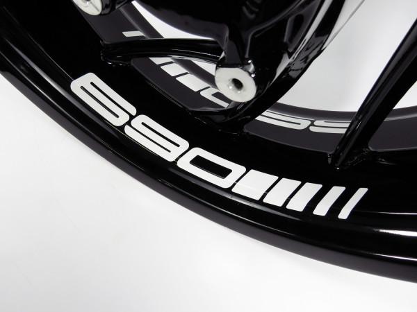 BIKE-label Felgenbett Aufkleber kompatibel für KTM 690 versch. Farben wählbar