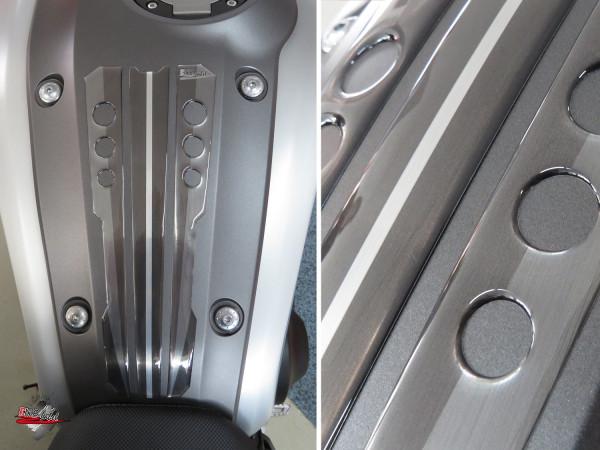 BIKE-label 502304 Tankpad Grau kompatibel für Yamaha XSR 900 alu gebürstet