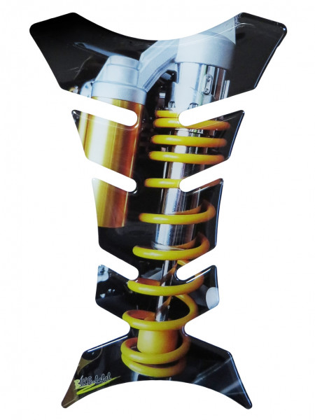 BIKE-label 502144 Tankpad Motorrad Aufkleber Nitro Machine