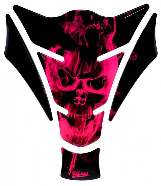 BIKE-label 502590 Tankpad Ghost Neon Pink
