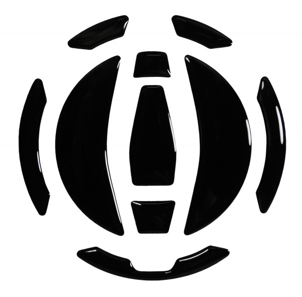 Tankdeckel Pad Schwarz Black Motorrad Schutz universell kompatibel für Kawasaki