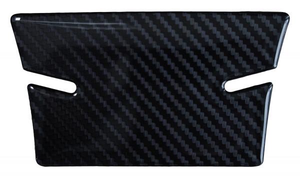 BIKE-label 501962 mini Tankpad Motorrad Aufkleber Carbon Schwarz Optik