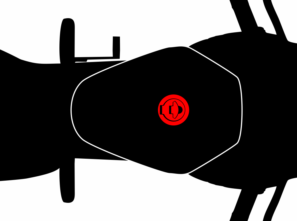 Tankdeckel-Pads