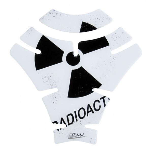 Tankpad radioaktiv white Form 9