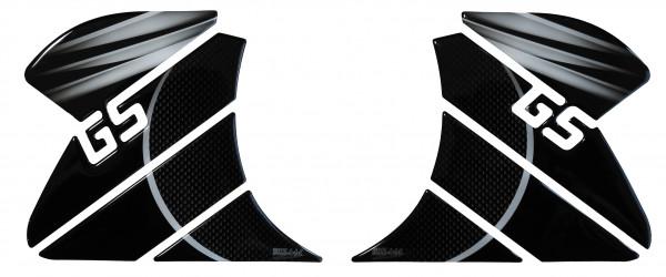 BIKE-label 800263 Seitentank Pad Carbon Grau kompatibel für BMW R 1200 GS Adventure