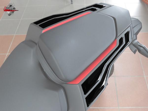 BIKE-label 550041 Deko Schutz-Aufkleber Haltegriffe Black kompatibel für Honda CBR 1000 RR Fireblade