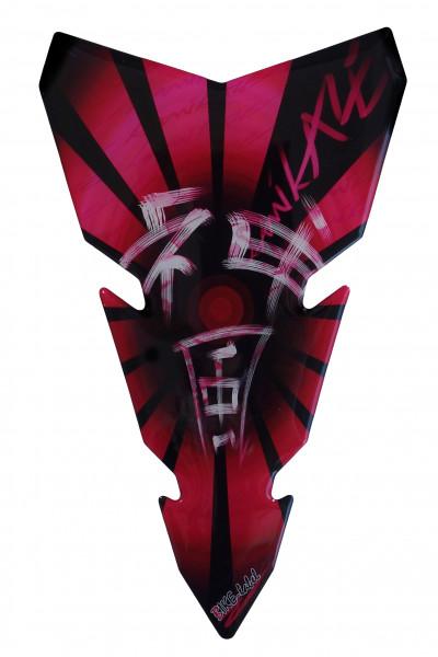 BIKE-label 501761 Tankpad Motorrad Aufkleber Kamikaze Pink
