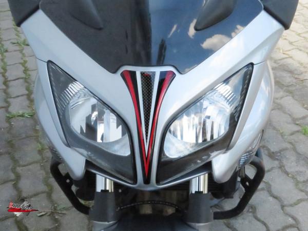 BIKE-label 550002 Deko Schutz-Aufkleber Kanzel Carbon Rot kompatibel für Honda CBF 1000