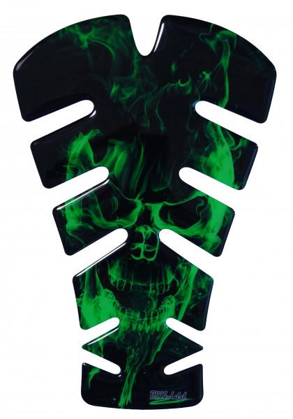 BIKE-label 500147 Tankpad Motorrad Aufkleber Ghost Green