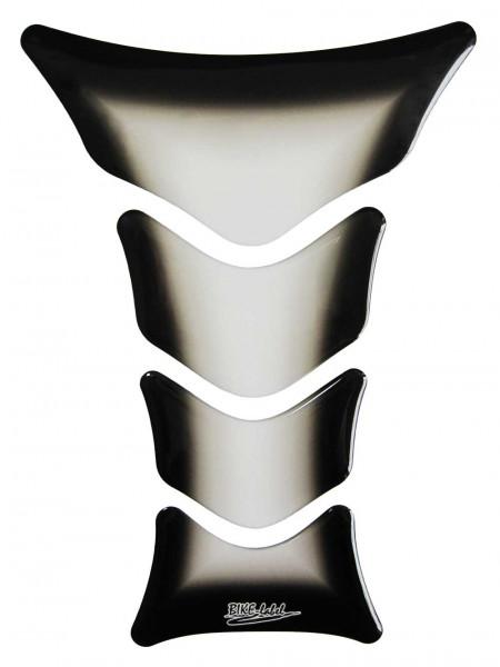 Tankpad Transparent / Schwarz-Verlauf Form 12