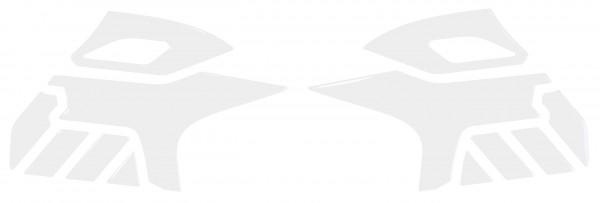 BIKE-label 800201 Seitentank Pad Transparent kompatibel für Suzuki V-Strom 650