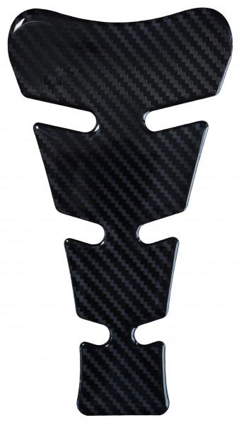 BIKE-label 501478 Tankpad Motorrad Aufkleber Carbon Schwarz Optik