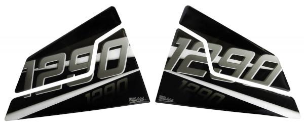 BIKE-label 800461 Seitentank Pad Silver kompatibel für KTM 1290 Super Duke R - bis BJ 2019