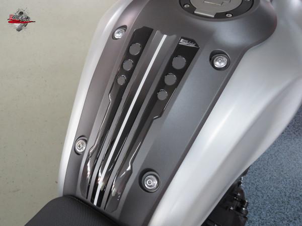 BIKE-label 502303 Tankpad Stripes Grey kompatibel für Yamaha XSR 900