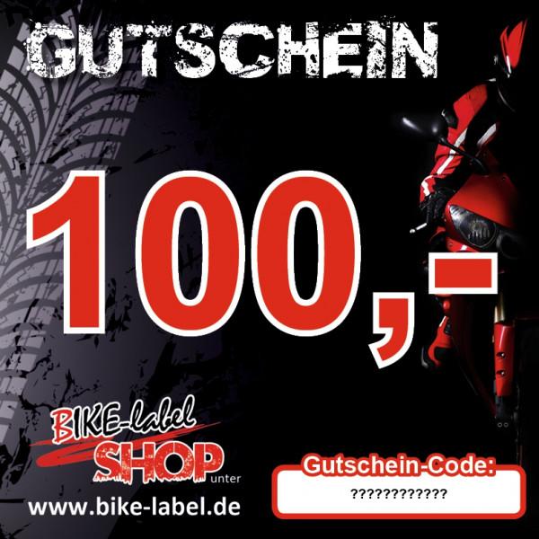 BIKE-label BIKE-label Gutschein 100,- EURO