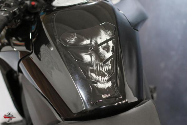 Tankpad Horrorclown Grey - Form 8