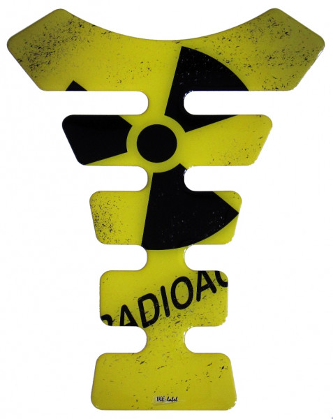 tankpad radioaktiv form 7