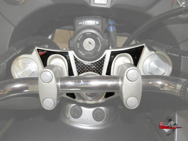 BIKE-label 550001 Deko Schutz-Aufkleber Gabelbrücke kompatibel für Honda CBF 1000