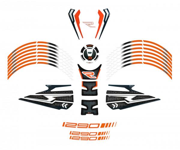 BIKE-label 850007 Motorrad Aufkleber Set kompatibel für KTM 1290 Super Duke R - ab BJ 2020