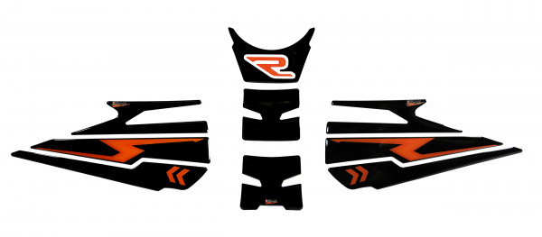 BIKE-label 850004 Tankpad Set kompatibel für KTM 1290 Super Duke R - ab BJ 2020