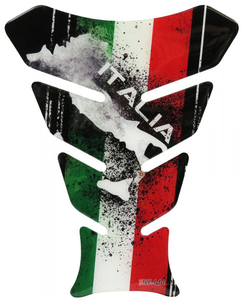 BIKE-label 502602 Tankpad Aufkleber Italien Tricolore