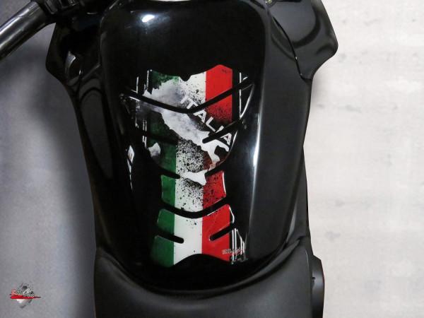 BIKE-label 502601 Tankpad Aufkleber Italien Tricolore