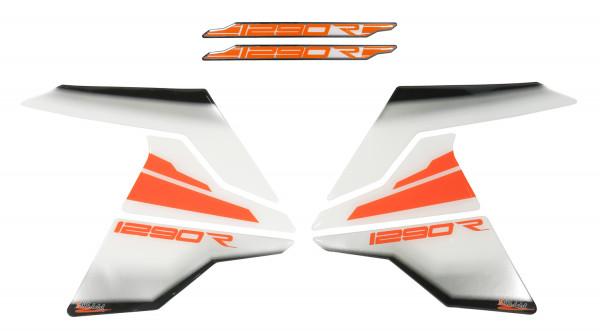 BIKE-label 800128 Seitentank Pad Metallic Farben kompatibel für KTM 1290 Super Adventure R