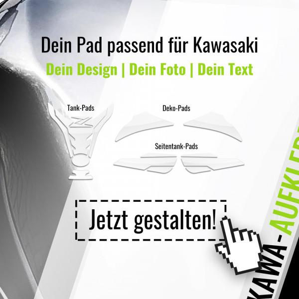 Wunsch Tankpad passend für Kawasaki Motorräder