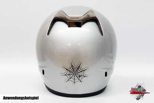 BIKE-label 910027 Helm Protektorsticker Spinnennetz Spinne Netz Aufkleber