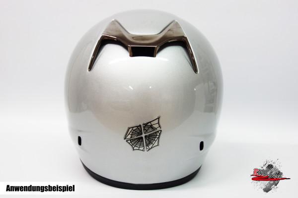 BIKE-label 910023 Helm Protektorsticker Spinnennetz Spinne Spiter Aufkleber