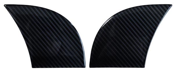 BIKE-label 810072 Seitentank Pad Motorrad Aufkleber Carbon Schwarz Optik