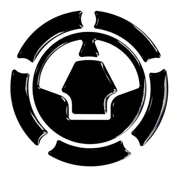 BIKE-label 640013 Tankdeckel Pad Black universell kompatibel für Kawasaki