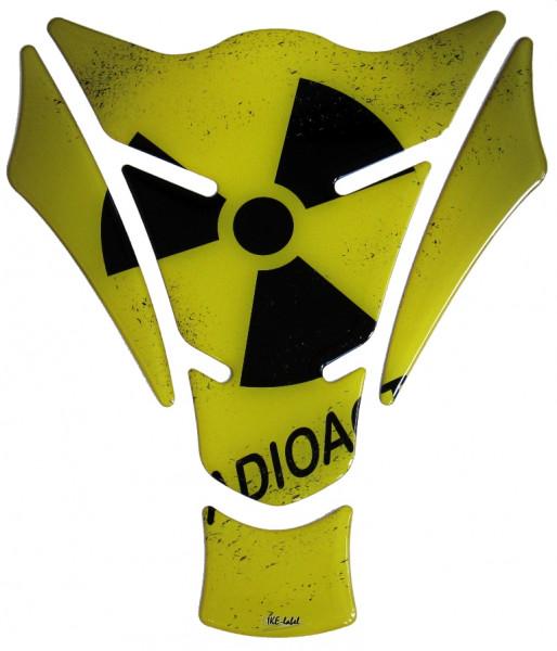tankpad radioaktiv form 15