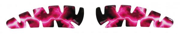BIKE-label 800026 Seitentank Pad Motorrad Lackschutz Aufkleber Blitz Pink